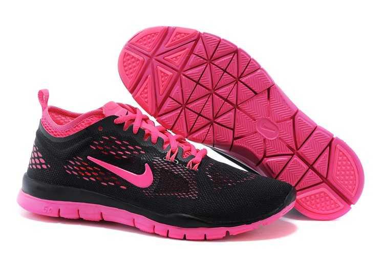 Nike Free Femme Noir Rose