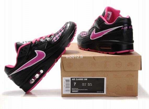 newest 8eaed 11273 Nike Air Max 90 Current Bw Femme Hufquake Nouveaustyle 2010 Noir