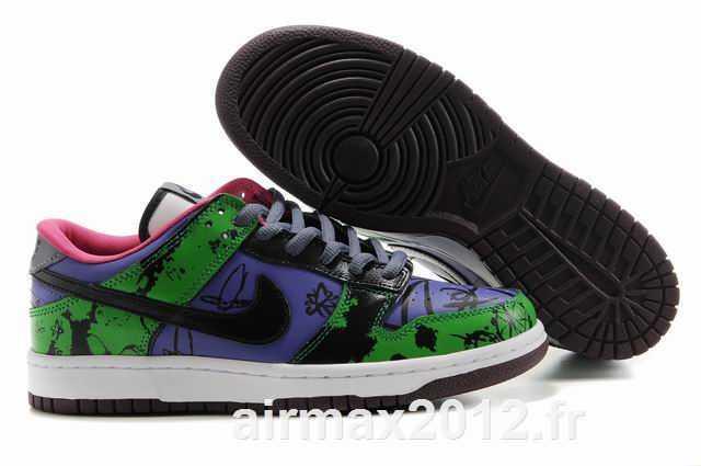 Nike DUNKSB Femme & Homme Violet Noir